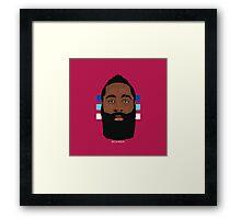 JAMES. Framed Print