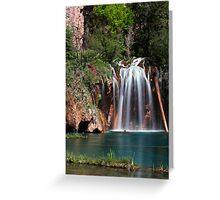 Hanging Lake Greeting Card