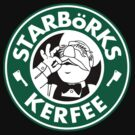  &#x27;Starbrks Kerfee&#x27; - Smaller Logo (Starbucks / The Swedish Chef) by James Hance