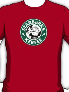 'Starbörks Kerfee' - Smaller Logo (Starbucks / The Swedish Chef) T-Shirt