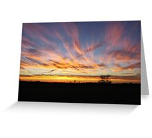 Cotton Candy Skies Greeting Card