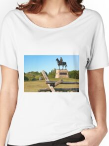Gettysburg National Park - Meade Memorial - Gettysburg, PA Women's Relaxed Fit T-Shirt