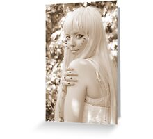 Rachael - Soft Light Greeting Card