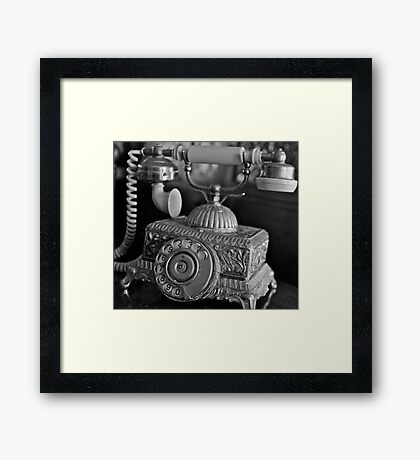 Telephone Framed Print