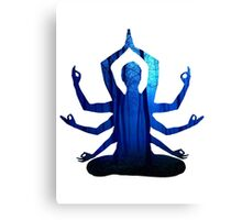 Blue Zen Canvas Print