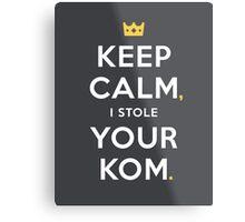 Keep Calm Metal Print