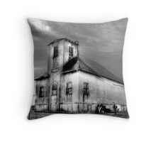 1809 Amish One Room Schoolhouse  Throw Pillow