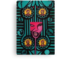 Demon of Greed Canvas Print