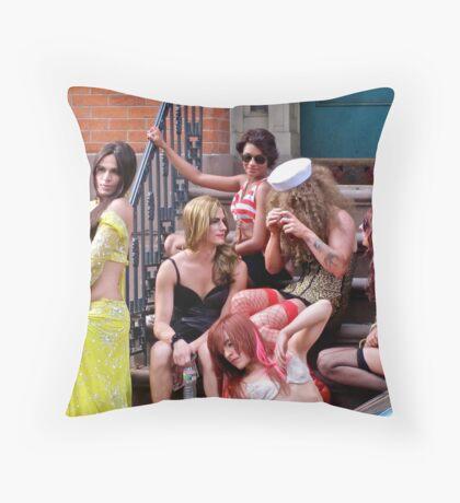 Beauties Throw Pillow