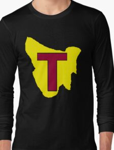 Map of Tassie Long Sleeve T-Shirt