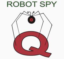 Jonny Quest Robot Spy! Kids Tee