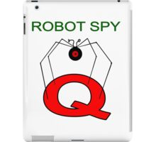 Jonny Quest Robot Spy! iPad Case/Skin