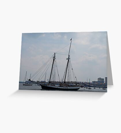 A Gorgeous Day on The Water. Greeting Card