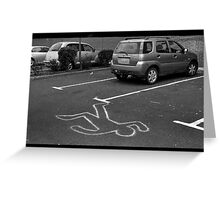 Cartoonist wanted for hit and run.... Greeting Card