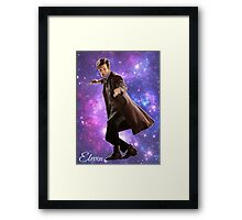 Eleven In Stars Framed Print