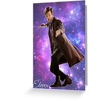 Eleven In Stars Greeting Card