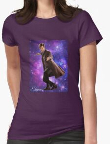 Eleven In Stars Womens Fitted T-Shirt