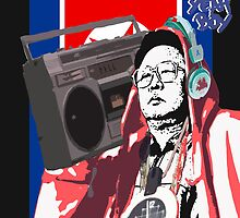 Kim Jung ILL with a BOOMBOX by Benjamin Sloma