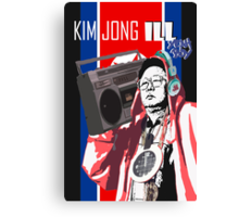 Kim Jung ILL with a BOOMBOX Canvas Print