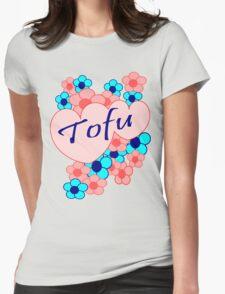 Tofu Love Womens Fitted T-Shirt