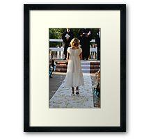 The Flower Girl Framed Print
