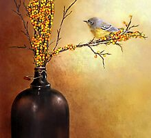 Autumn Warbler  by Renee Dawson