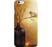 Autumn Warbler  iPhone Case/Skin