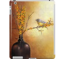 Autumn Warbler  iPad Case/Skin