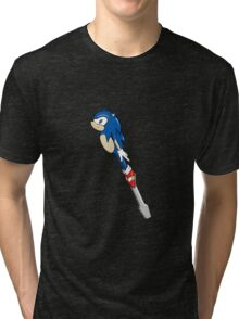 The Doctor's Sonic Screwdriver Tri-blend T-Shirt