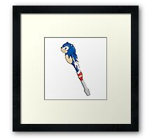 The Doctor's Sonic Screwdriver Framed Print