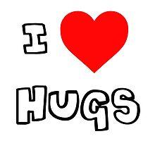 I Heart Hugs by PingusTees