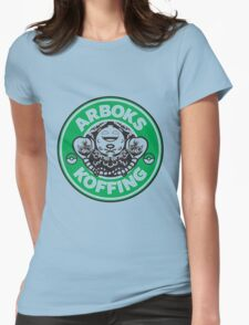 Arboks koffing pokemon starbucks parody Womens Fitted T-Shirt