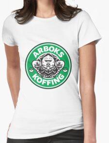 Arboks koffing pokemon starbucks parody Womens Fitted T-Shirt