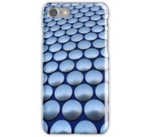 Modern Architectural Silver Circles Exterior of Birmingham Bull Ring iPhone Case/Skin