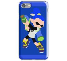 Inkling Boy (Blue) - Splatoon iPhone Case/Skin