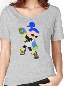 Inkling Boy (Blue) - Splatoon Women's Relaxed Fit T-Shirt