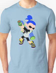 Inkling Boy (Blue) - Splatoon Unisex T-Shirt
