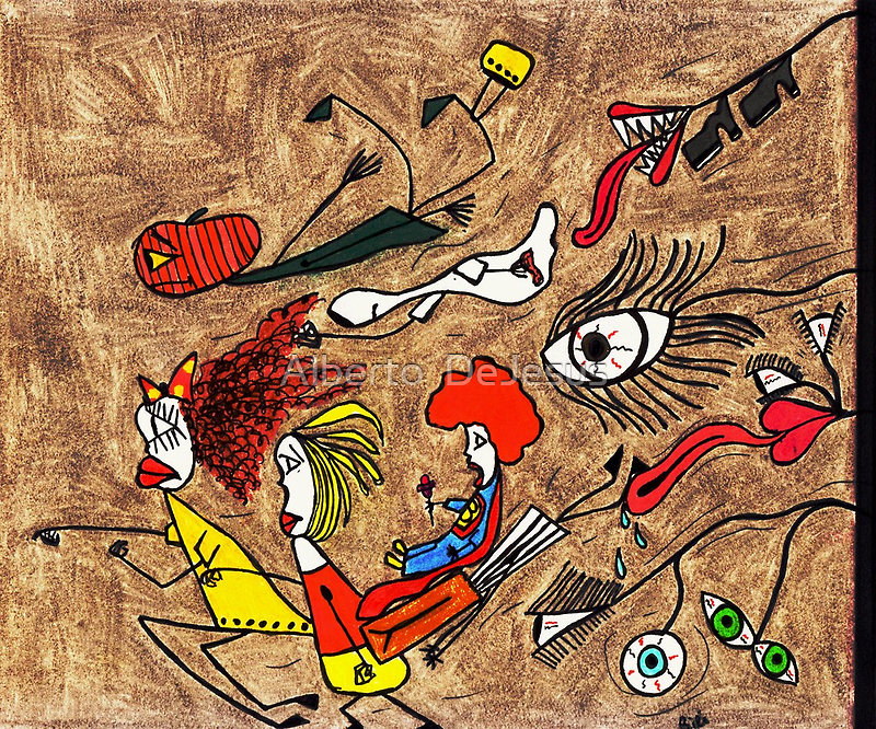YIKES, RUN!! by Alberto  DeJesus