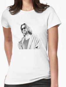 The Big Lebowski -The Dude Womens Fitted T-Shirt