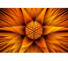 Aura of the Puff Star Photographic Print
