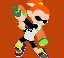 Inkling Boy (Orange) - Splatoon by samaran