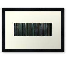 Moviebarcode: Snatch (2000) Framed Print