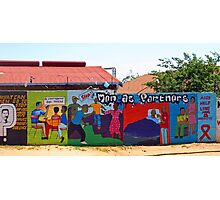 Colorful commercial -Soweto style! Photographic Print