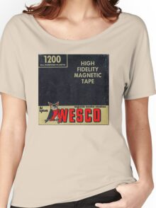 Wesco Magnetic Tape Women's Relaxed Fit T-Shirt
