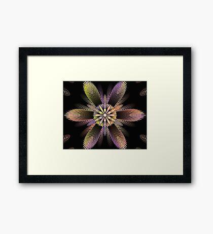 Puff Blossom Framed Print
