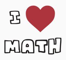 I Heart Math One Piece - Long Sleeve