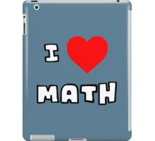 I Heart Math iPad Case/Skin