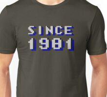 SINCE 1981 Unisex T-Shirt