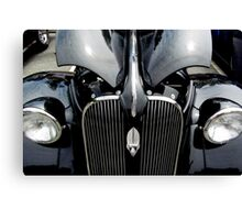 37 Plymouth Black Beauty Canvas Print