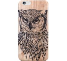 Butterflies And Owls 2 iPhone Case/Skin